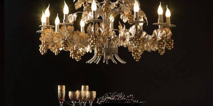 Тоскана: распродажа в салоне классического света и мебели. Скидки от 45%!
